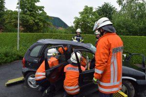 Verkehrsunfall-Ausbildungstag