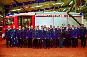 Einsatzstunden weiter gestiegen Marcel Teichert und Wolfgang Thier Feuerwehrmitglieder des Jahres