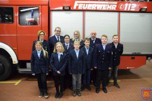 Jahreshauptversammlung des Spielmannszuges der Freiwilligen Feuerwehr Bad Bentheim e.V. Spielmannszug sucht musikinteressierte Mitglieder