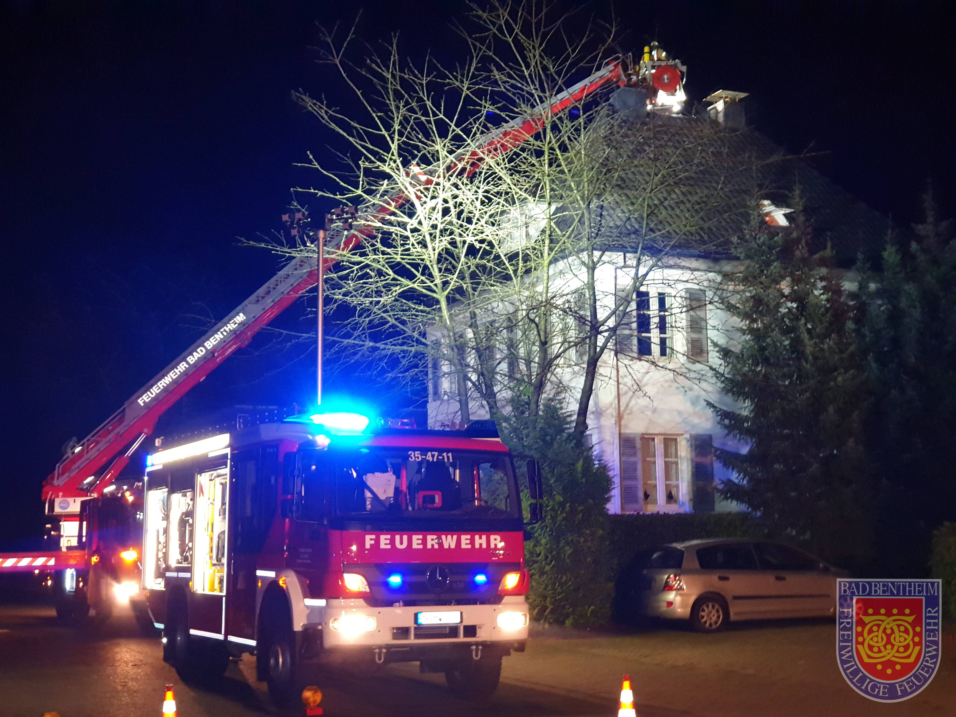 F2 – Schornsteinbrand