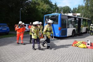 Rettungskräfte probten Ernstfall
