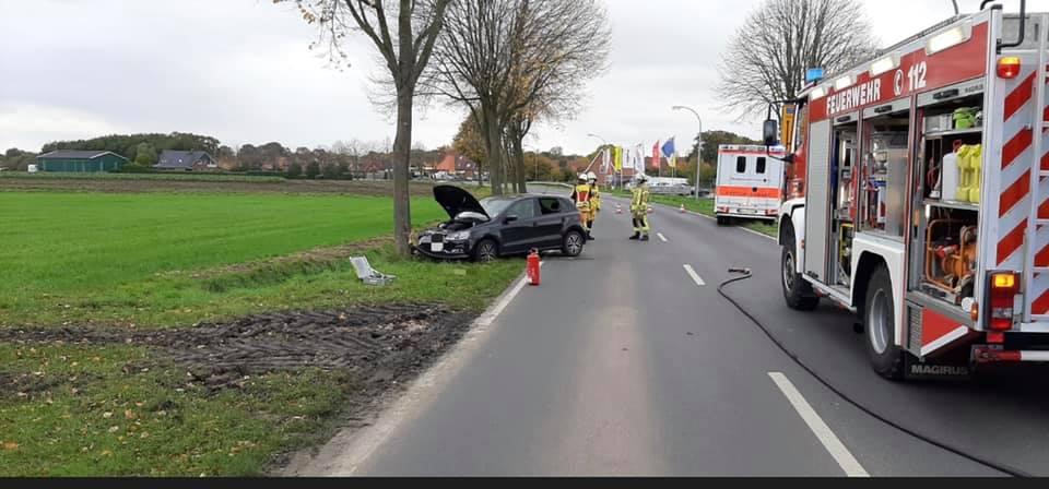H3Y – Verkehrsunfall Person Klemm
